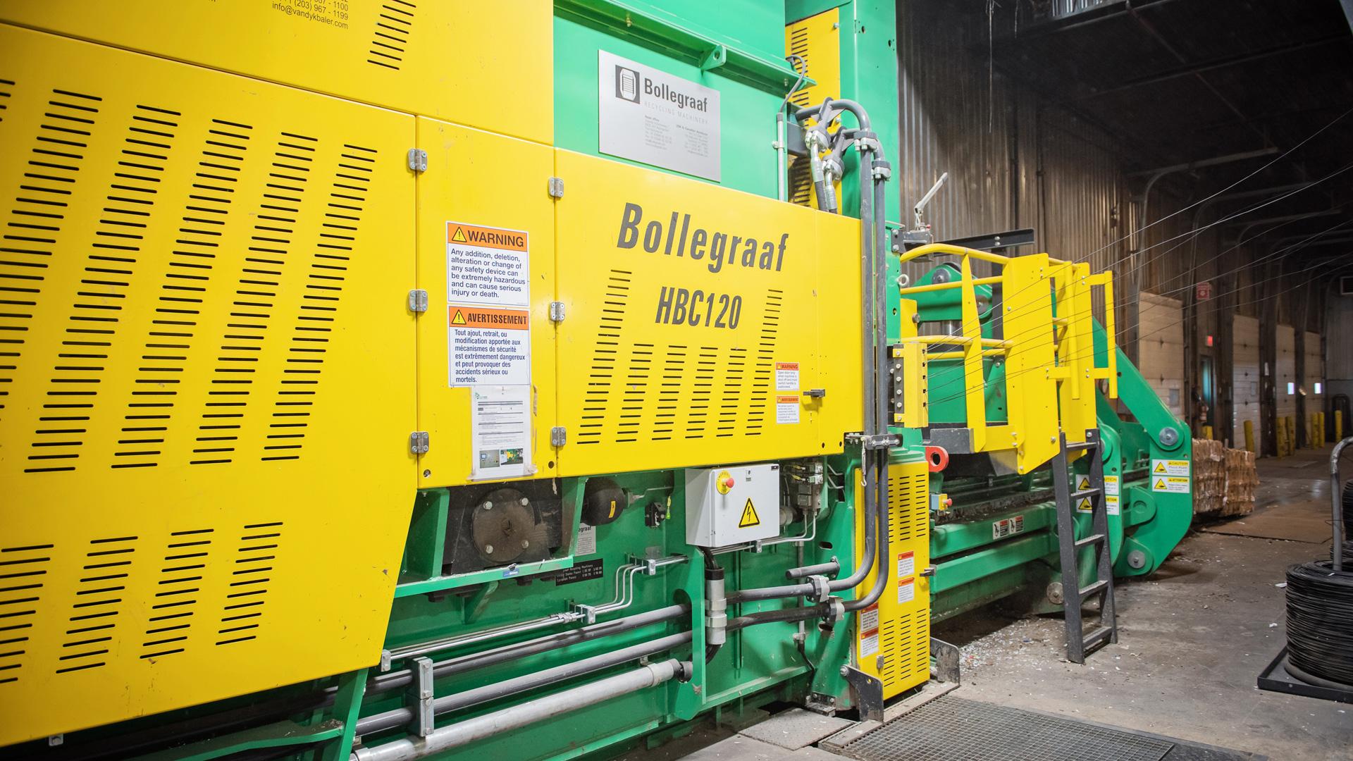 Récupéraction Centre-du-Québec acquiert une presse Bollegraaf
